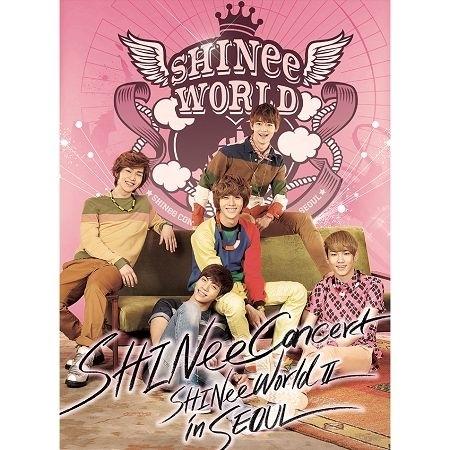 SHINee THE 2nd CONCERT ALBUM <SHINee WORLD Ⅱ in Seoul> 專輯封面