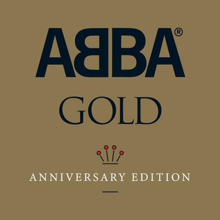 Abba Gold 40th Anniversary Edition 黃金典藏紀念精選 專輯封面