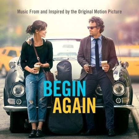 Begin Again 曼哈頓戀習曲 電影原聲帶 專輯封面