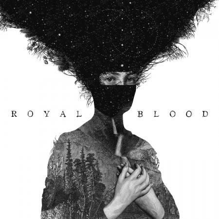Royal Blood 首張同名專輯 專輯封面