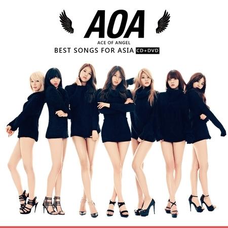 王牌女神AOA:A級精選 專輯封面