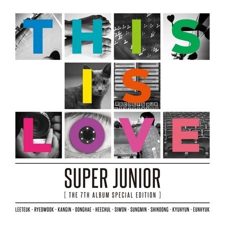 第七張正規專輯特別版『THIS IS LOVE』 專輯封面