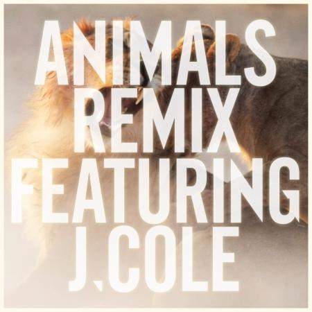 Animals (Remix) [feat. J Cole] 專輯封面