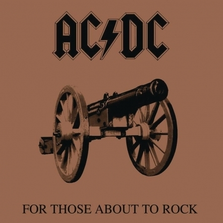 For Those About to Rock (We Salute You) 向搖滾致敬 專輯封面