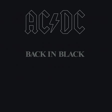 Back In Black 回歸黑暗 專輯封面
