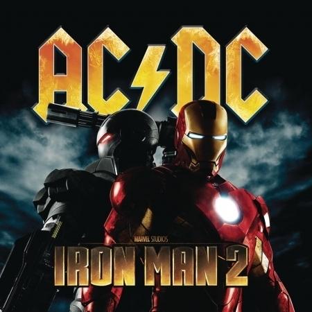 Iron Man 2 鋼鐵人2 電影原聲帶 專輯封面