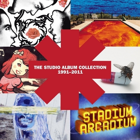The Studio Album Collection 1991 - 2011 專輯封面