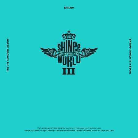 SHINee THE 3rd CONCERT ALBUM <SHINee WORLD Ⅲ in SEOUL> 專輯封面