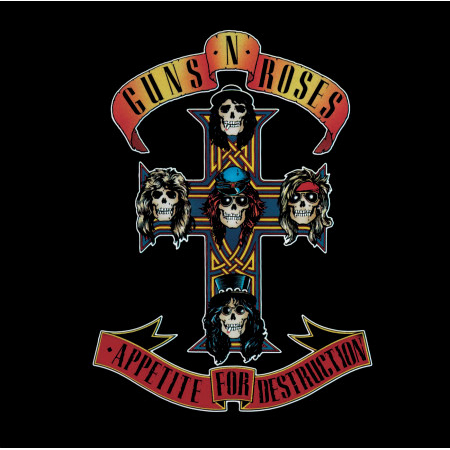 Appetite For Destruction (UK Mid Price) 專輯封面