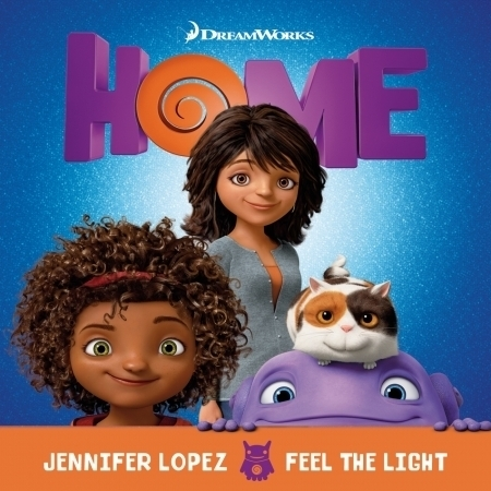 """Feel The Light (From The """"Home"""" Soundtrack) 專輯封面"""