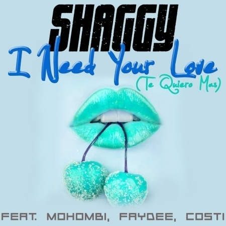 I Need Your Love (Te Quiero Mas) [feat. Mohombi, Faydee, Costi] 專輯封面