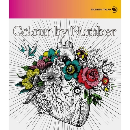 Colour by Number 彩繪塗鴉 專輯封面