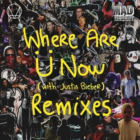 Where Are Ü Now (with Justin Bieber) [Remixes] 專輯封面