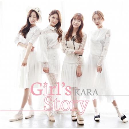 Girl's Story 專輯封面
