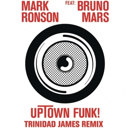 Uptown Funk (feat. Bruno Mars) [Trinidad James Remix] 專輯封面