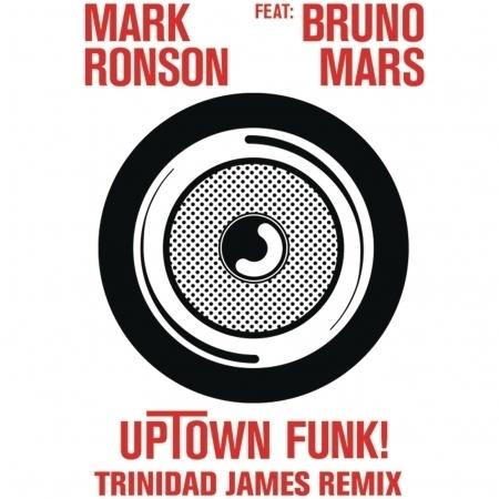 Uptown Funk (feat. Bruno Mars) [Trinidad James Remix] 專輯封面