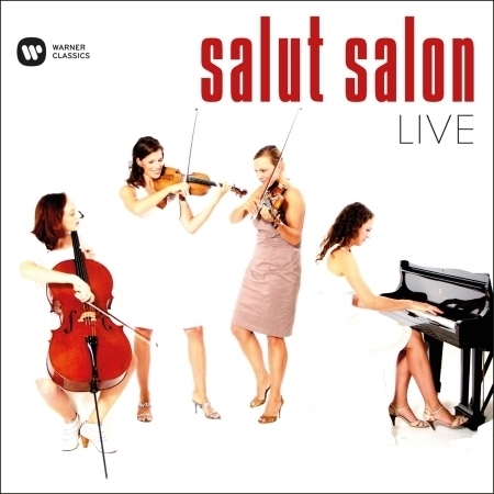 Salut Salon - Live 嬌點現場 專輯封面