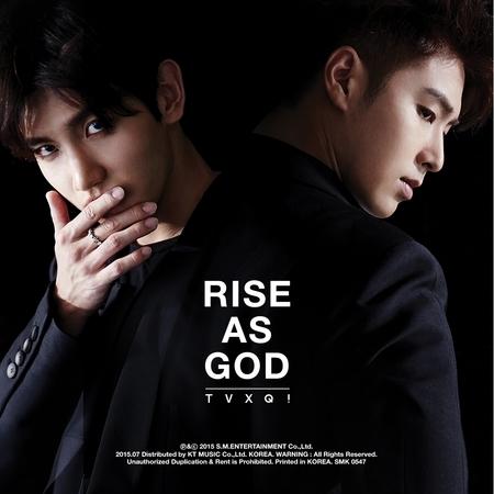 特別專輯『RISE AS GOD』 專輯封面