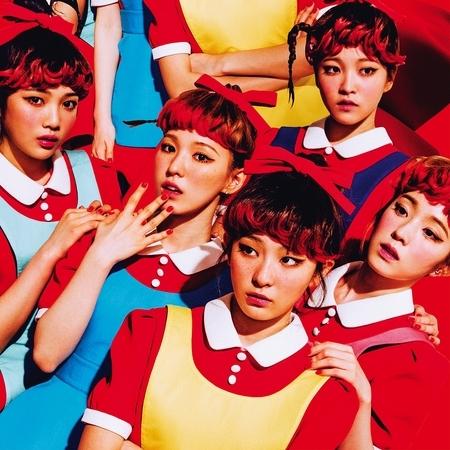 首張正規專輯『The Red』 專輯封面