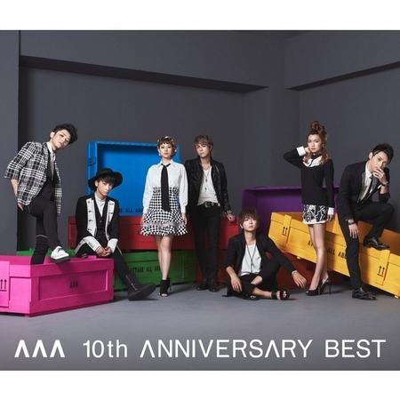 AAA 10th ANNIVERSARY BEST 專輯封面
