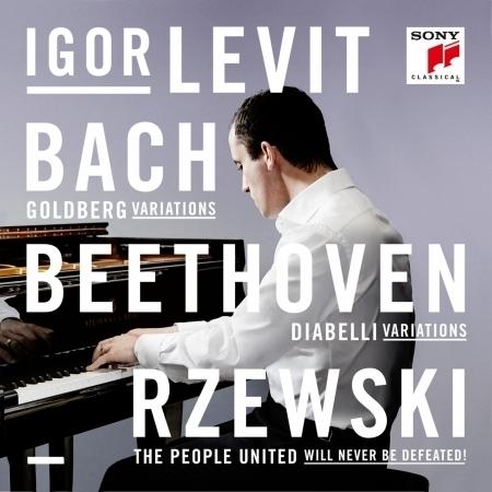 Bach, Beethoven, Rzewski 專輯封面