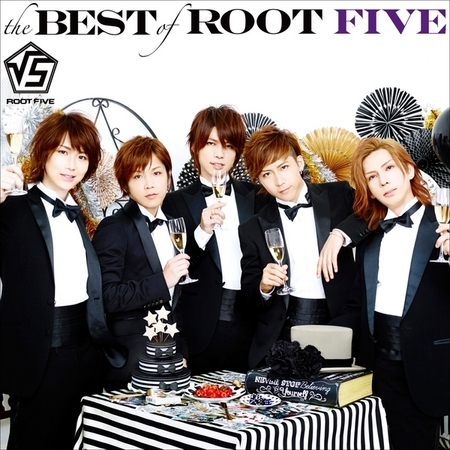 the BEST of ROOT FIVE 專輯封面