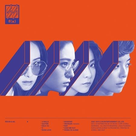 第四張正規專輯『4 Walls』 專輯封面