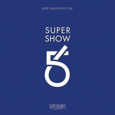 SUPER JUNIOR The 5th WORLD TOUR [SUPER SHOW 5] 專輯封面