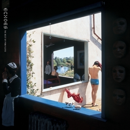 Echoes: The Best of Pink Floyd 搖滾回聲 精選輯 專輯封面