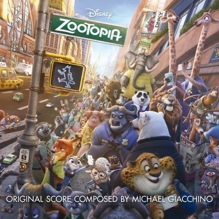Zootopia (Original Motion Picture Soundtrack) 專輯封面