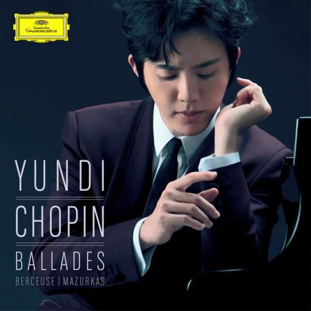 Chopin: Ballades, Berceuse, Mazurkas 專輯封面