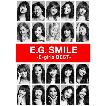E.G. SMILE -E-girls BEST- 專輯封面