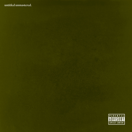untitled unmastered. (Explicit) 專輯封面