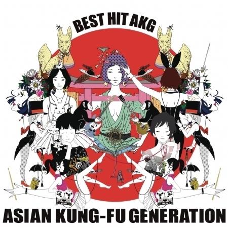 Best Hit AKG 歷年精選 專輯封面