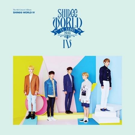SHINee WORLD IV - The 4th Concert Album 專輯封面