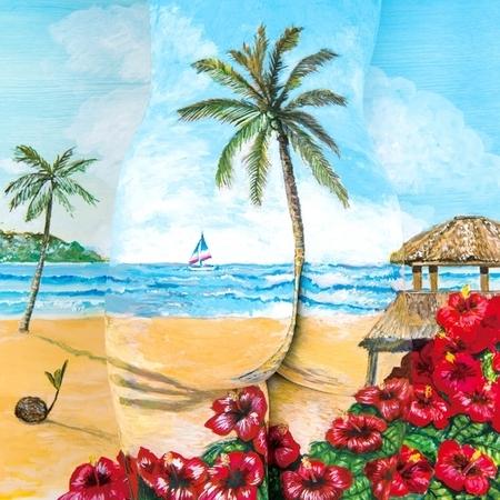 如椰子樹一般 / 彩色變化 / 與你共度的夏天 專輯封面
