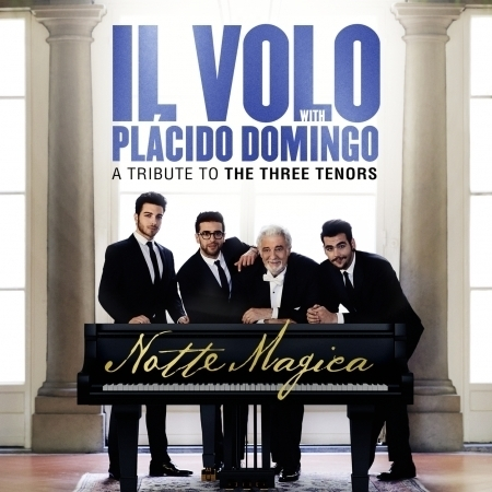 Notte Magica - A Tribute to The Three Tenors (Live) 專輯封面