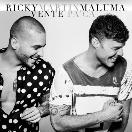 Vente Pa' Cá (feat. Maluma) 專輯封面