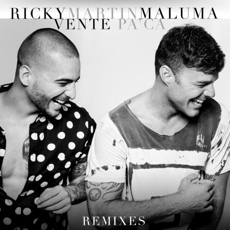 Vente Pa' Ca (feat. Maluma) [Remixes] 專輯封面