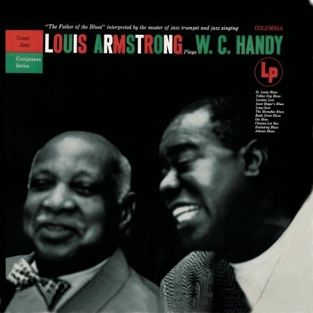 Louis Armstrong Plays W. C. Handy 專輯封面
