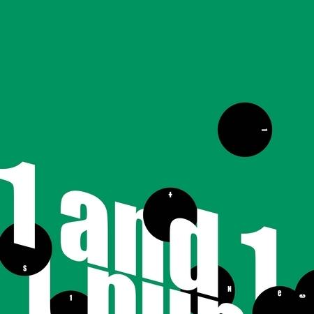 第五張正規改版專輯『1 and 1』 專輯封面
