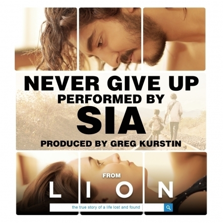 """Never Give Up (From """"Lion"""" Soundtrack) 專輯封面"""