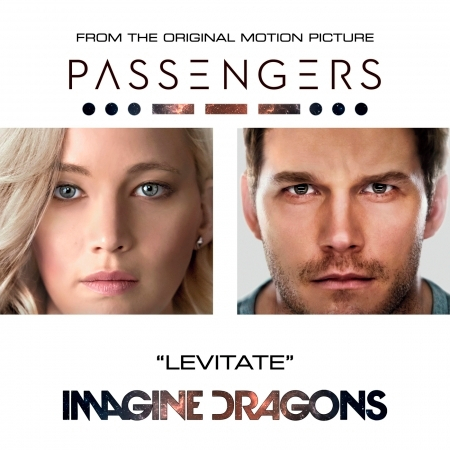"""Levitate (From The Original Motion Picture """"Passengers"""") 專輯封面"""