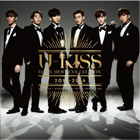 U-KISS JAPAN BEST COLLECTION 2011-2016 專輯封面