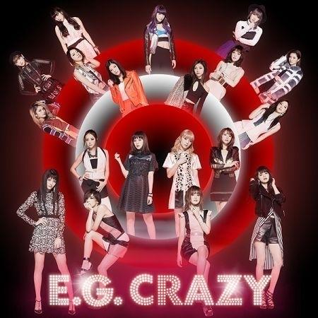 E.G. CRAZY 專輯封面
