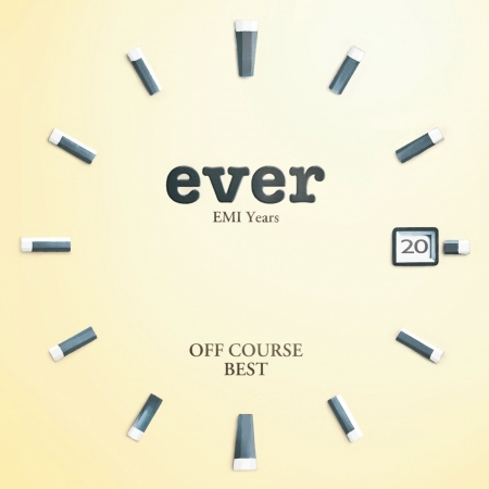 """Off Course Best """"Ever"""" EMI Years 專輯封面"""