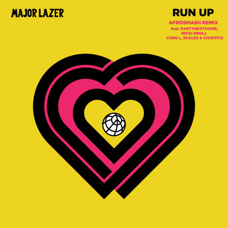 Run Up (feat. PARTYNEXTDOOR, Nicki Minaj, Yung L, Skales & Chopstix) [Afrosmash Remix] 專輯封面