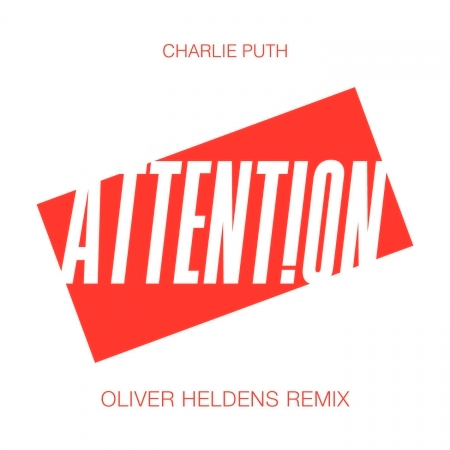 Attention (Oliver Heldens Remix) 專輯封面