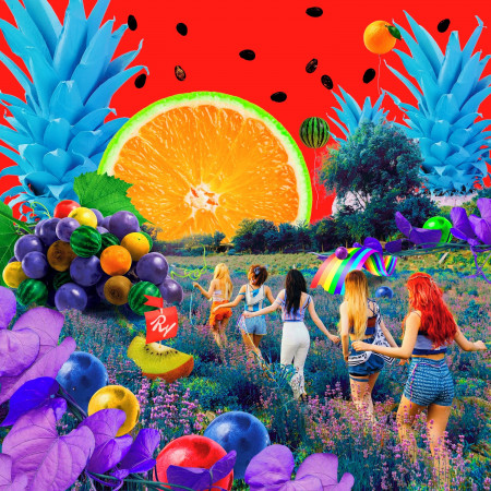夏日迷你專輯 『The Red Summer』 專輯封面