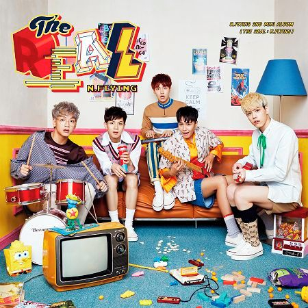 N.Flying 韓語迷你2輯THE REAL:N.Flying 專輯封面